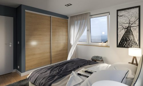 Interior Rendering – Gottfrieding – Bedroom